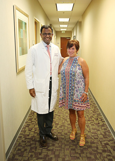 Neurosurgeon Vinay Deshmukh, MD, FACS, of Carolina Neurosurgery & Spine Associates